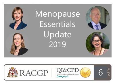 Menopause Essentials Update 2019