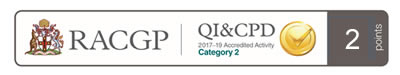 RACGP QI&CPD Program 2017-19 Triennium Total Points 2 Category 2.